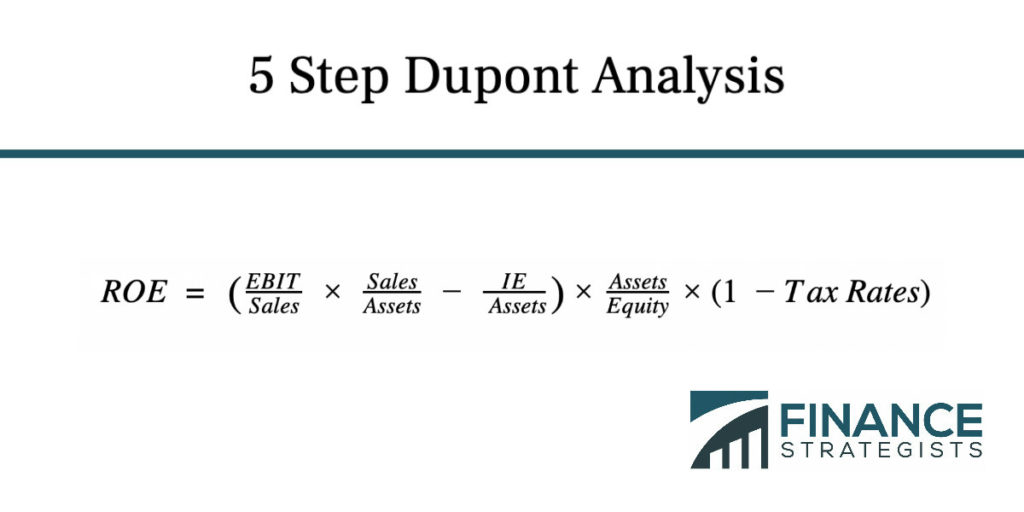 5 Step Dupont Analysis